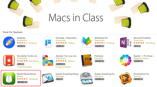 Apple App Store Spotlight Macs In Class