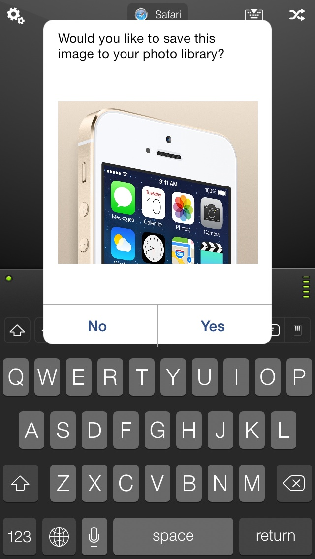 iPhone Mobile Mouse Clipboard Sync